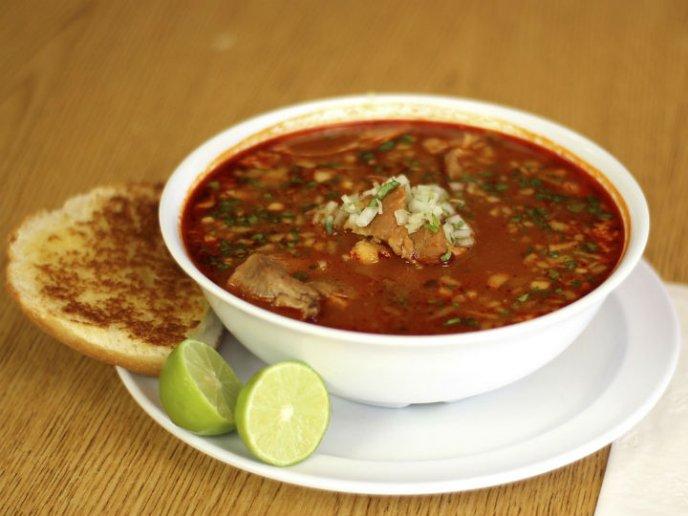 Menudo, sopa mexicana