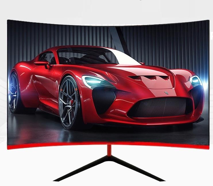 Monitor de pantalla curvada