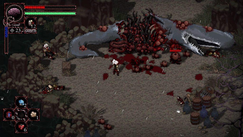 Morbid: The Seven Acolytes es un RPG pixel muy desafiante