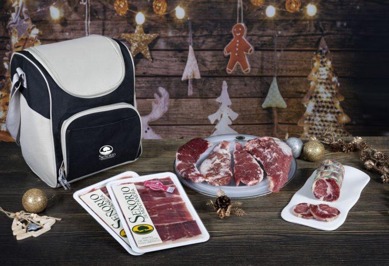 Señorío de Montanera: el menú 100% ibérico para disfrutar en casa esta Navidad