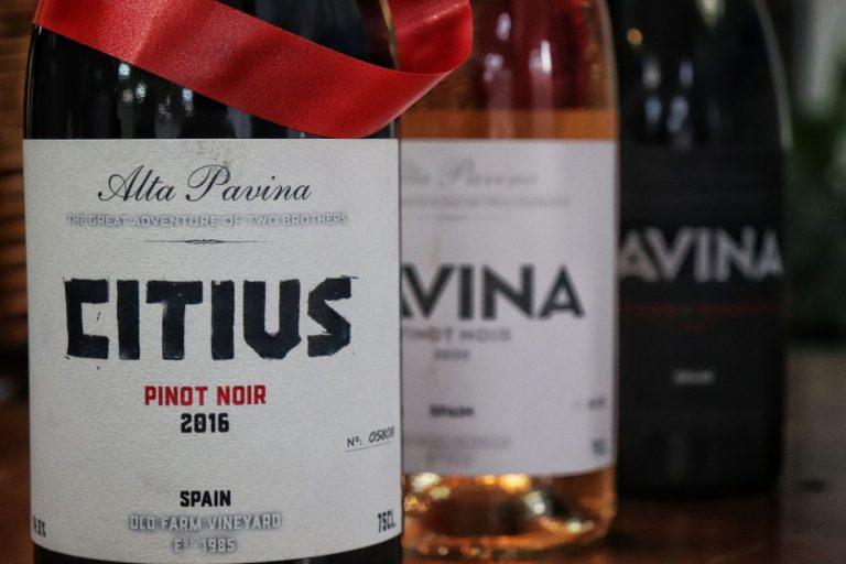 Alta Pavina, una selección de vinos para dejarse sorprender estas fiestas