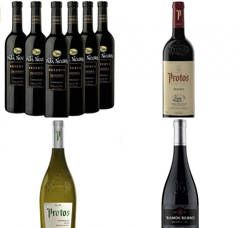 Pata Negra, Protos y Ramón Bilbao: mejores ofertas de Amazon en selección de vinos