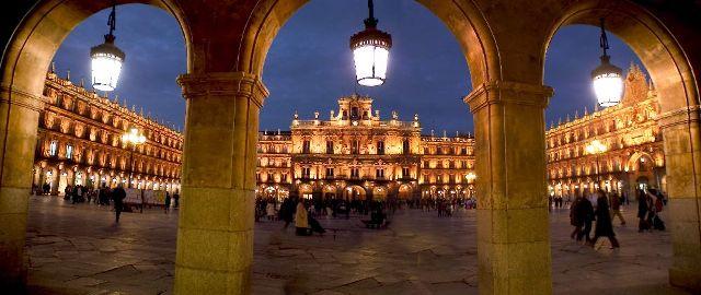 La Plaza Mayor de Salamanca, una de las plazas más bonitas de España