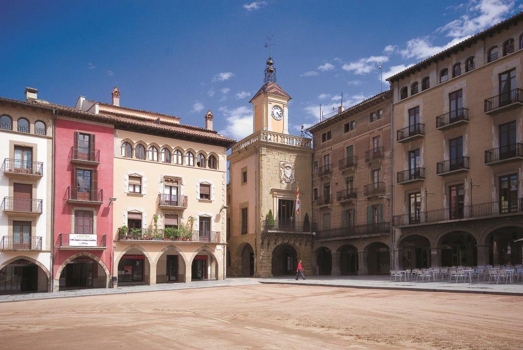 Plaza Mayor de Vic, Cataluña