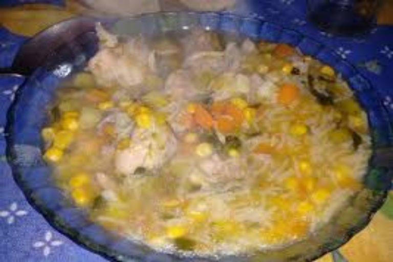 Como hacer la auténtica sopa de picadillo andaluza en menos de hora