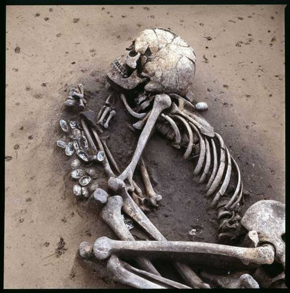 Fósiles de individuo