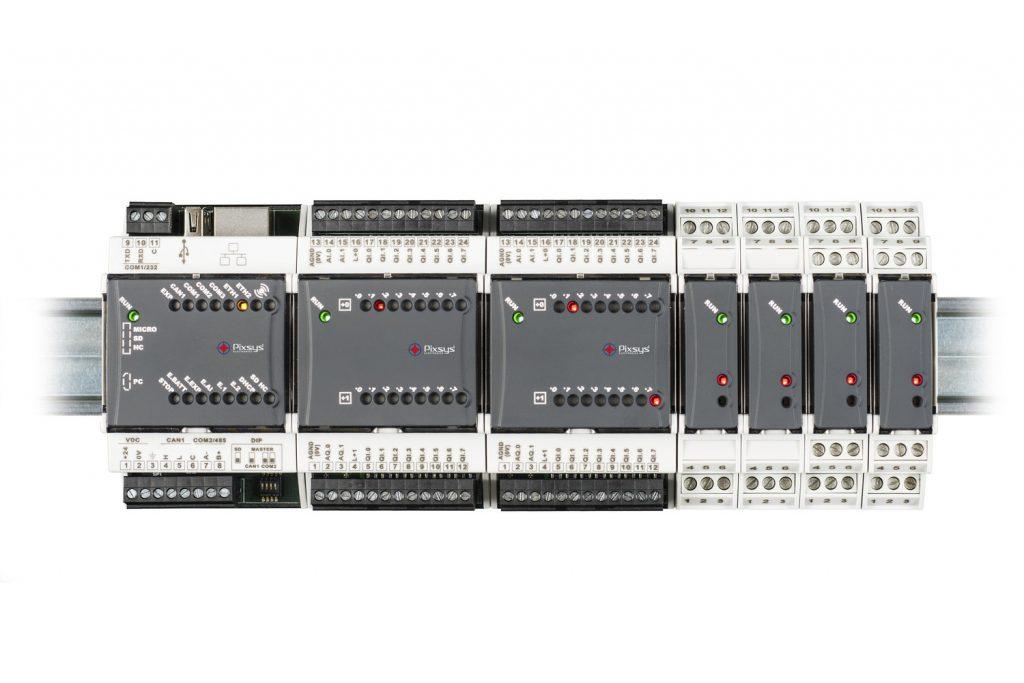 PLC de tipo modular:
