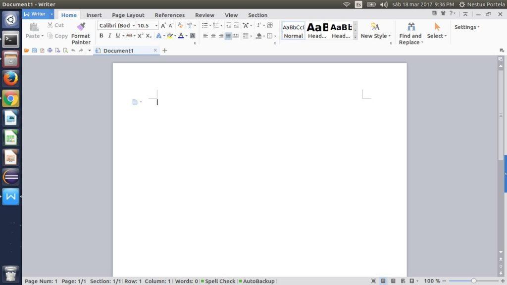 Instalación de WPS Office en PC
