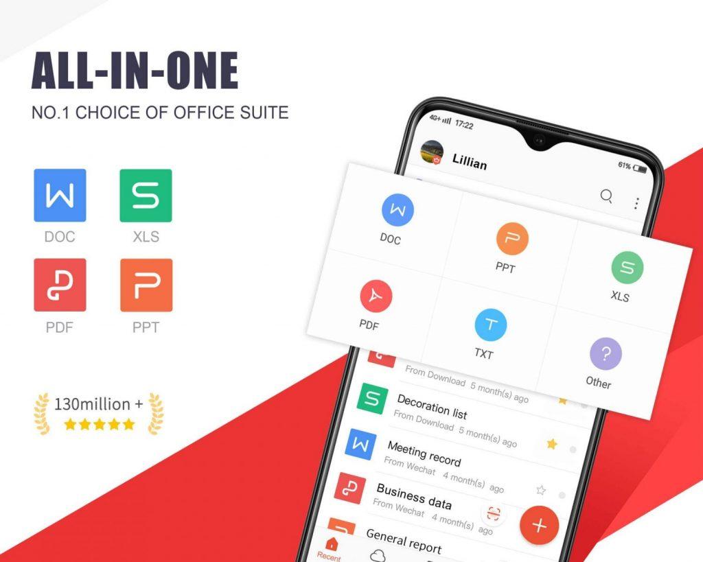 WPS Office en Android