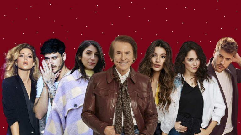 Raphael : 'Contigo todo el año es Navidad' con otros artistas