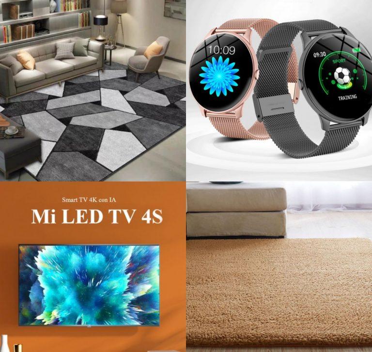 Relojes inteligentes, televisores y hasta alfombras: 10 ofertones del día en Aliexpress