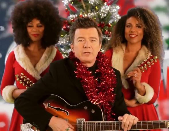 Rick Astley nos anima con 'Love This Christmas'