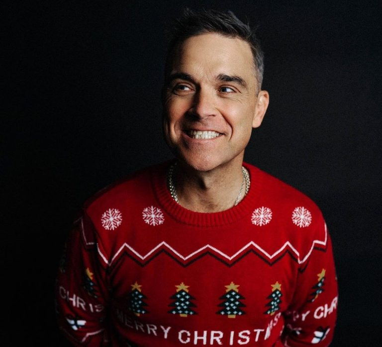 Robbie Williams y 'Can't Stop Christmas', su último single navideño