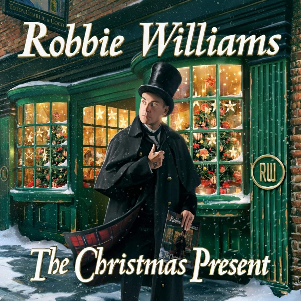 Robbie Williams The Christmas present Can't Stop Christmas
