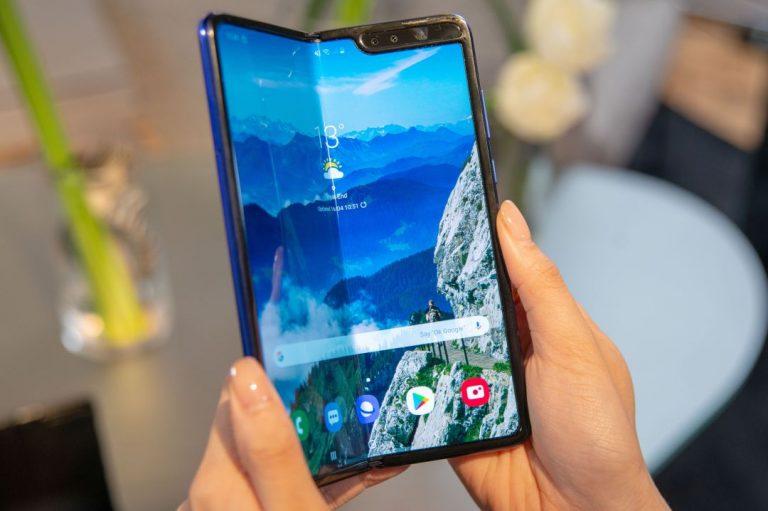 Samsung: así son los teléfonos plegables de la marca