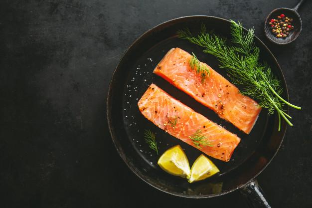 Sella el salmón