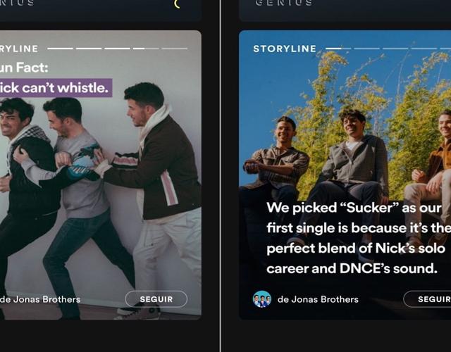 Spotify famosos