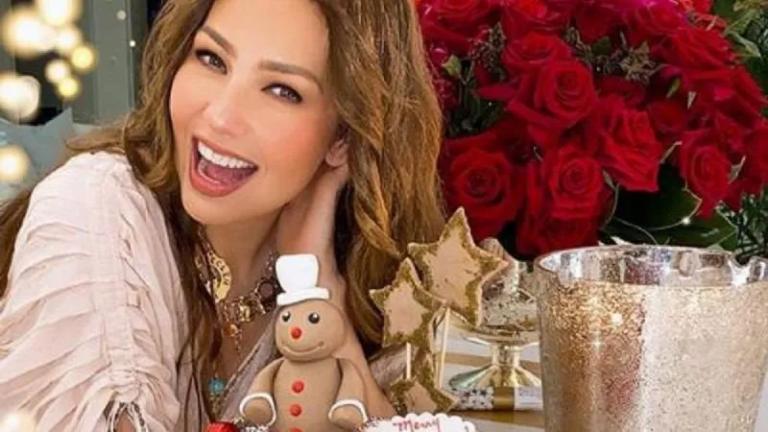 Thalia y su 'Feliz Navidad'