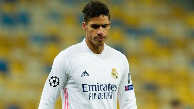 La 'rabieta' de Varane que puede sacarlo del Real Madrid