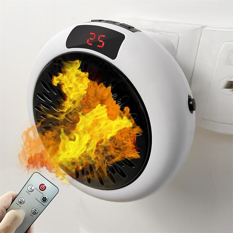 Calentador de ventilador eléctrico para el hogar
