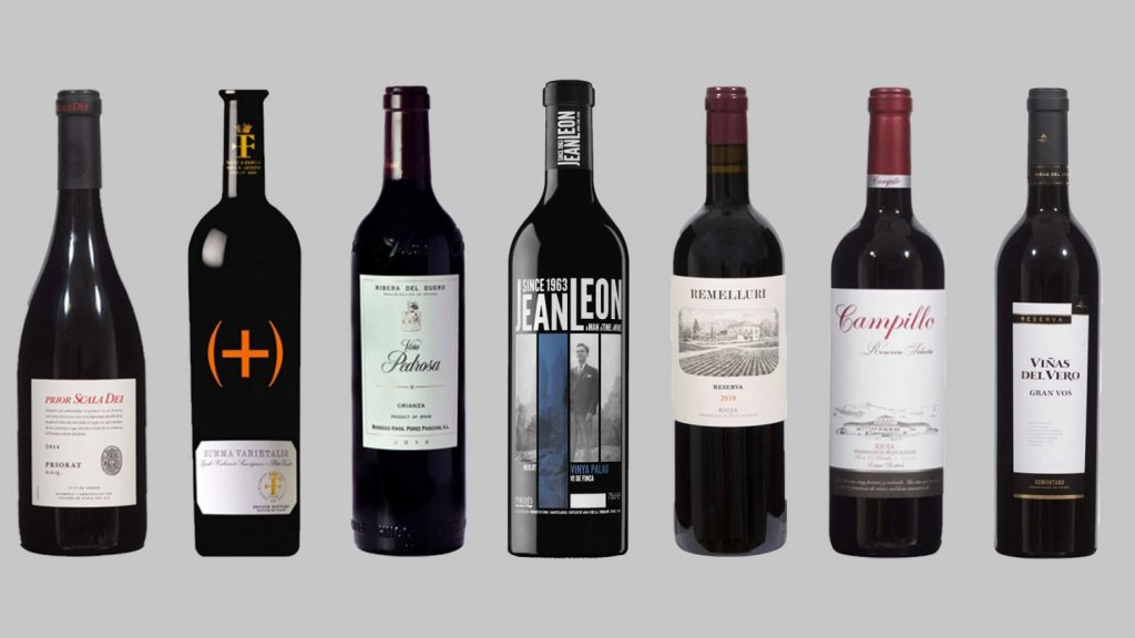 Los mejores vinos tintos de menos de 30 euros