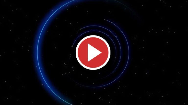 El Hubble capta como un vórtice oscuro en Neptuno cambia de dirección