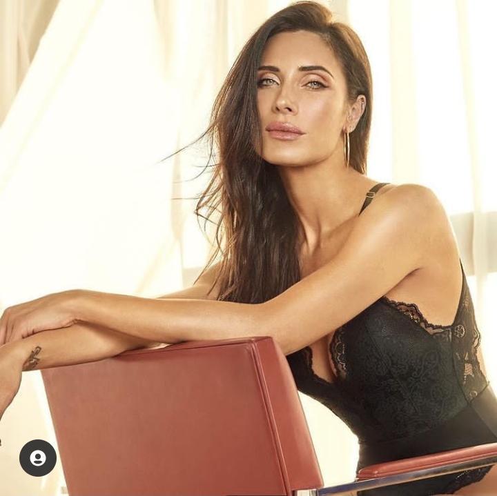 «De infarto»: el erótico posado en ropa interior de Pilar Rubio