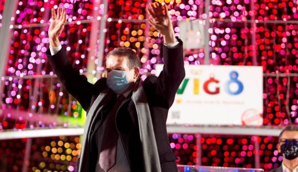 Abel Caballero es el alcalde al que más le gustan las luces de Navidad de toda España.