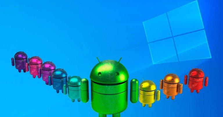 Así podrás abrir apps de Android en Windows