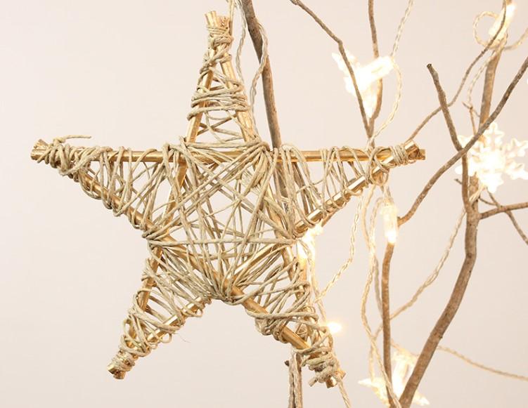 Estrellas para adornar el árbol de Navidad