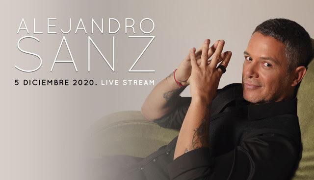 "Alejandro Sanz: concierto ""Live stream"""