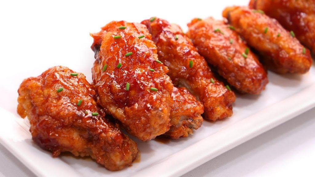 Elaboración de las alitas de pollo