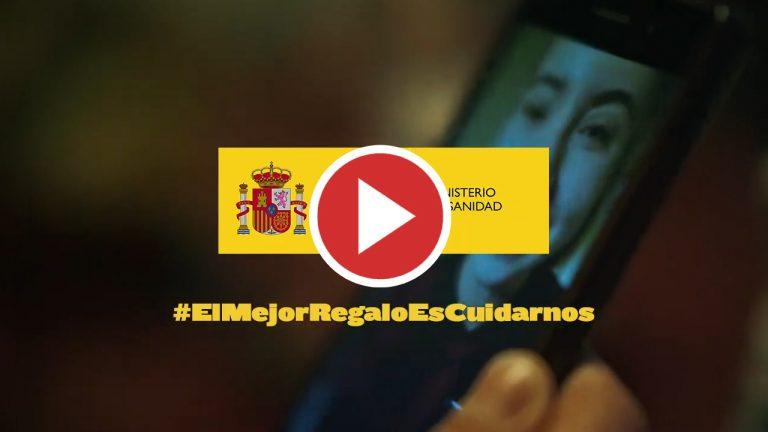 #ElMejorRegaloEsCuidarnos, lema de la campaña del Ministerio de Sanidad