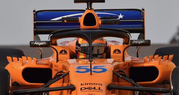 Caros Sainz Abu Dhabi 2018 McLaren