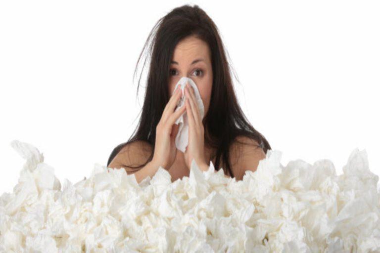 Cómo cortar el moqueo de nariz en cuestión de minutos