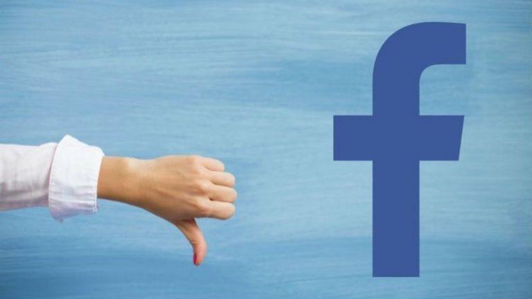 Por qué deberías borrarte de Facebook definitivamente
