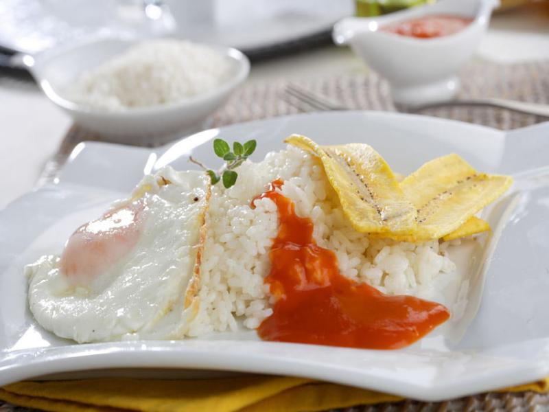 como preparar arroz a la cubana