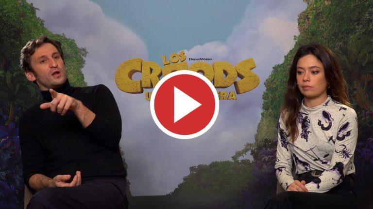 Anna Castillo y Raúl Arévalo debutan en doblaje con 'Los Croods: Una nueva era'