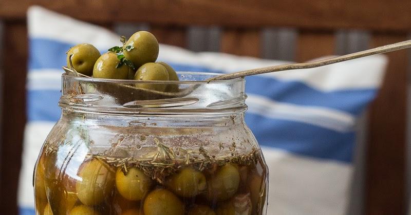 ¿Cómo preparar aceitunas en casa?