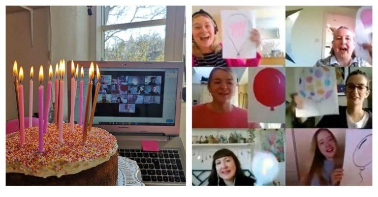Cómo hacer un cumpleaños virtual