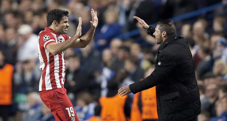 Diego Costa Simeone Atlético
