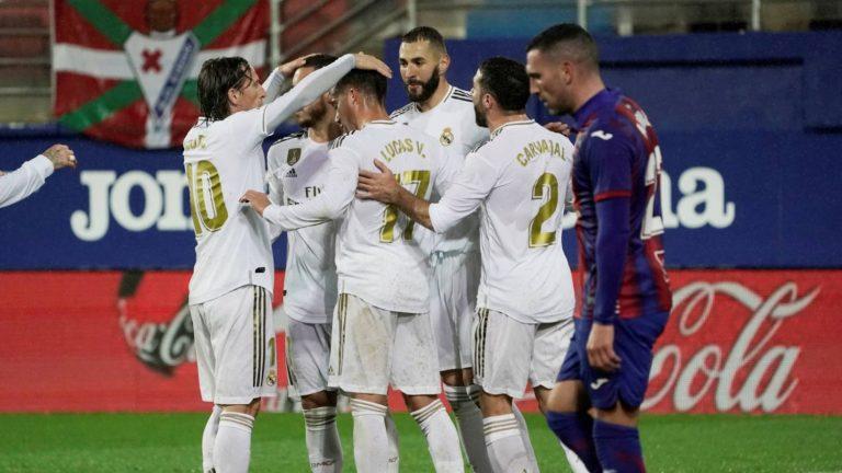 El Real Madrid gana en Ipurua ante un combativo Éibar