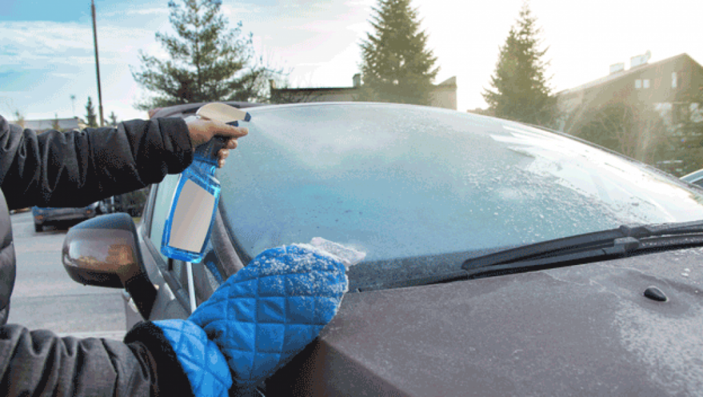 usos del vinagre en el coche