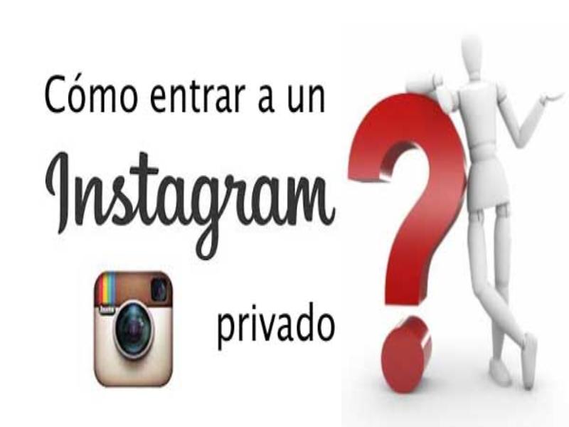 perfiles privados de Instagram
