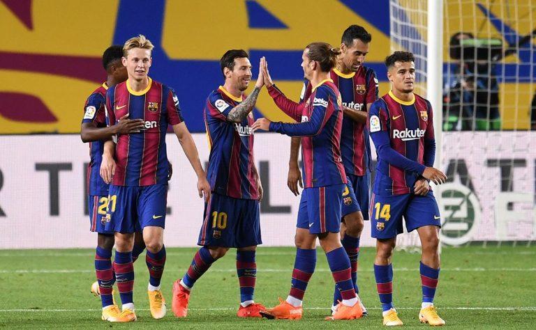 Barcelona gana por la mínima al Levante, y salva los muebles