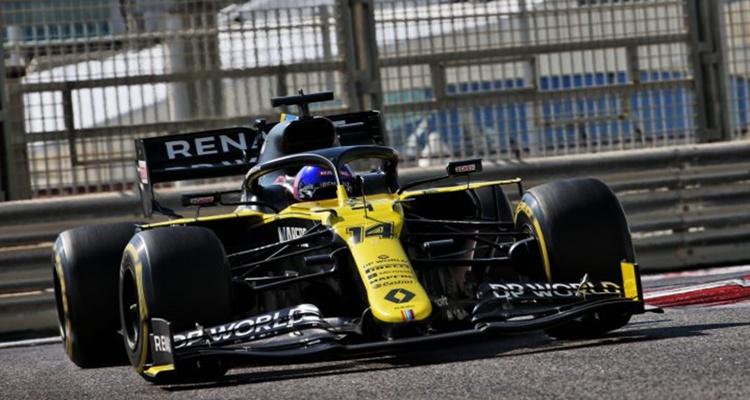 Fernando Alonso Renault Abu Dhabi