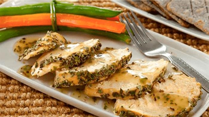 Pollo con limón al estilo mediterráneo