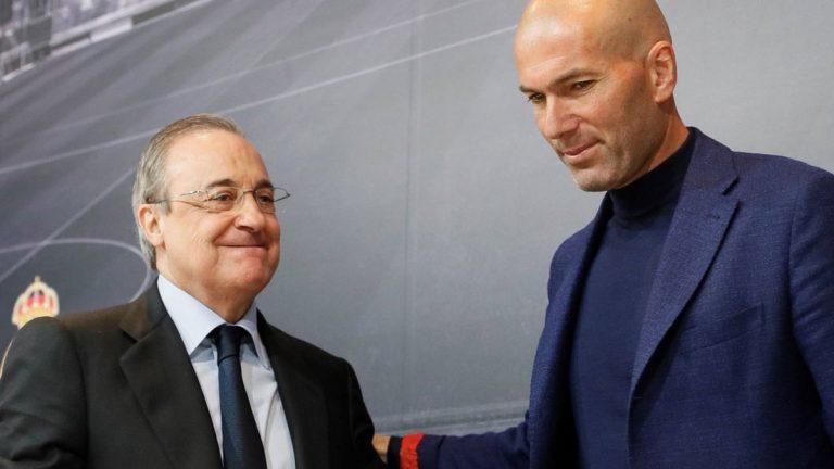 De héroe a salir por patas: la jugarreta de Florentino Pérez a Zidane