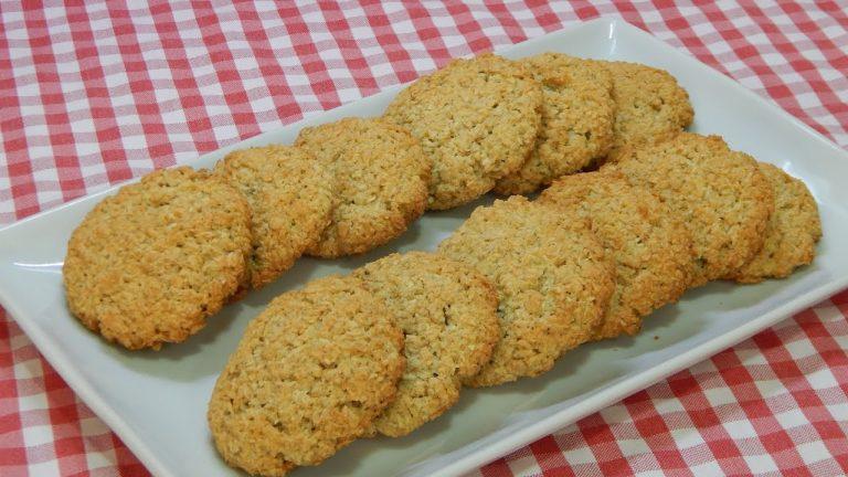 Cómo hacer unas galletas con harina de avena