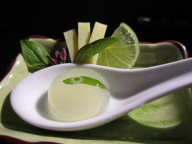 Gelatina de Mojito para sustituir por las uvas de fin de año